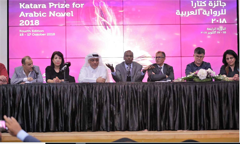 المؤتمر الصحفي للفائزين ضمن جائزة كتارا للرواية العربية الدورة الرابعة2018